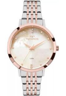 Relógio Feminino Technos 2036Mji/5B Trend - Feminino-Bronze