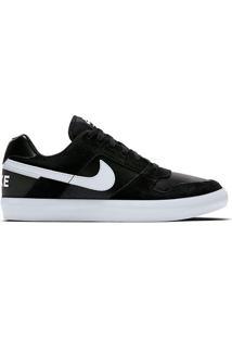Tênis Nike Sb Delta Force Vulc Masculino - Masculino-Preto+Branco