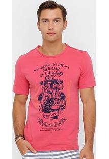 Camiseta Triton Sereia Vintage Masculina - Masculino