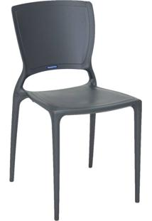 Cadeira Tramontina Sofia 92236/007 Grafite Se