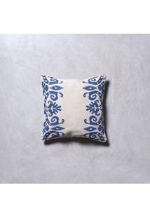 Capa De Almofada Jodhpur Cor: Azul - Tamanho: Único