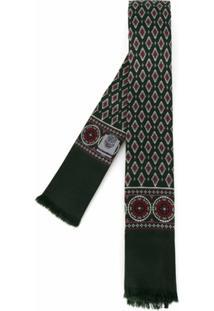 Dolce & Gabbana Lenço Gravata De Seda - Verde