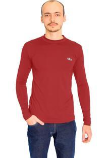 Camiseta Mprotect Térmica Manga Longa Vermelho