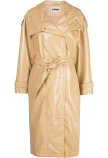 Apparis Oversized Trench Coat - Neutro