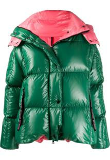 Moncler Parana Hooded Coat - Verde