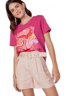 Camiseta Amaro Grand Aquatic Feminina - Feminino