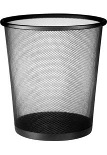 Cesto Lixo Aco Basket 16L Mor