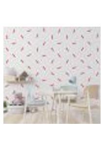 Adesivo Decorativo De Parede - Kit Com 100 Linhas - 010Kab18