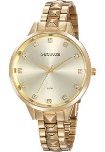 Relógio Seculus Feminino 77067Lpsvds1
