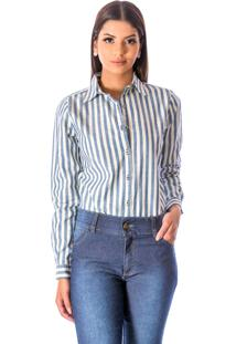 Camisa Sisal Jeans Slim Fit Listrada