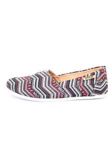 Alpargata Quality Shoes Feminina 001 Étnico Azul 33