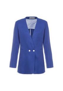 Blazer Feminino Deauville - Azul