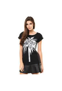 Camiseta Fiveblu Palm Preta