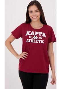 Camiseta Kappa Athletic Feminina - Feminino