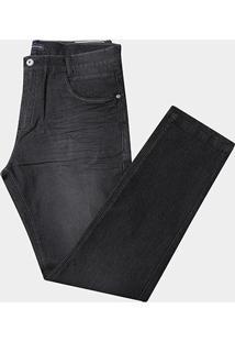 Calça Jeans Preston Plus Size Cintura Alta Masculina - Masculino