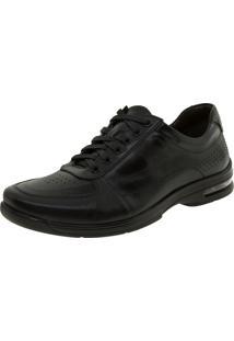Sapato Masculino Social Preto Democrata - 148101