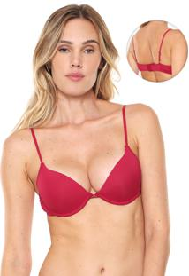 Sutiã Indecense Push Up Basic Bordô