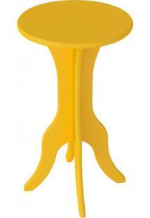 Mesa Lateral De Apoio Kin Artely Amarelo
