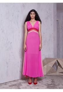 Vestido Atelier Le Lis Eliza (Pink, 42)