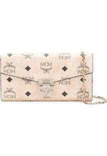 Mcm Carteira 'Patricia Two Fold' - Neutro