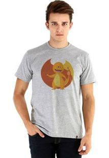 Camiseta Ouroboros Manga Curta Fire Dragon - Masculino