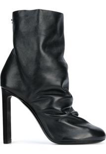Nicholas Kirkwood Ankle Boot '105 D'Arcy' De Couro - Preto