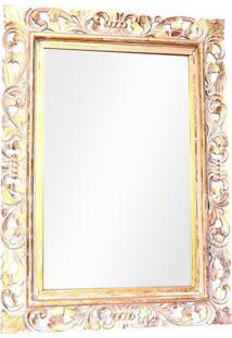 Espelho Bali Pátina Gold 120Cm