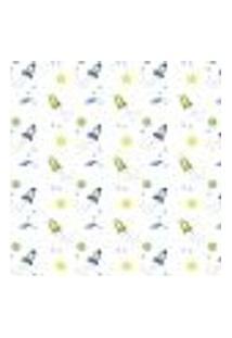 Papel De Parede Adesivo Infantil Foguete Sol E Lua 2,70X0,57M