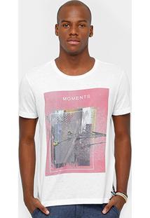 Camiseta Calvin Klein Moments Masculina - Masculino