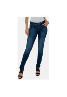 Calça Jeans Feminina Premium Skinny Versatti Suiça