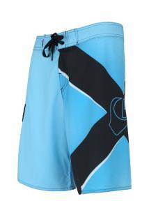 Bermuda Quiksilver Bullseye - Masculina - Azul/Preto