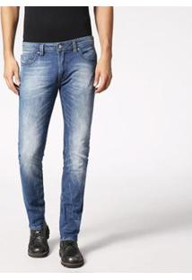 Calça Diesel Thavar Masculina - Masculino-Jeans