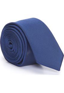 Gravata Extra Slim - Azul