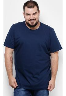 Camiseta Drezz Up Plus Size Básica Masculina - Masculino