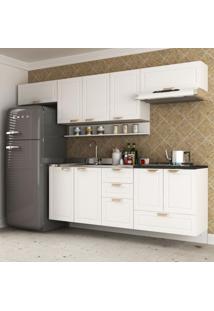 Cozinha Completa 6 Peças Americana Multimóveis 5669S Branco