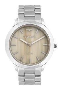 Relógio Technos Unique Y121E5Dh/1C Prata Y121E5Dh/1C