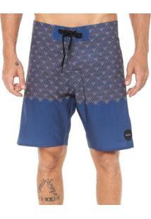 Bermuda Rvca Boardshort Dutch Trunk - Masculino