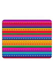 Tapete Love Decor Sala Wevans Mexican Multicolorido Único