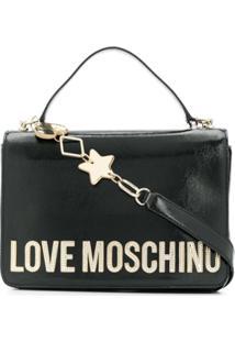Love Moschino Bolsa Tote - Preto