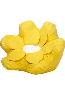 Puff Flower Nobre - Stay Puff - Amarelo