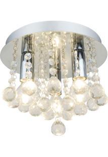 Plafon Premier Iluminação Victoryd25 Cristal