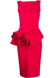 Le Petite Robe Di Chiara Boni Morny Dress - Vermelho
