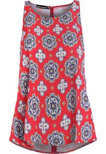 Blusa Be Fashion 4Ever Cropped Nadador Vermelho