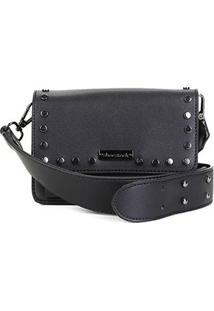 Bolsa Shoestock Mini Bag Tiracolo Tachas Feminina