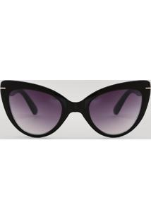 a862c01e7 R$ 35,40. CEA Óculos De Sol Gatinho Feminino Oneself Preto - Único