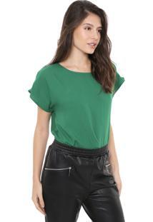 Blusa Colcci Metal Verde
