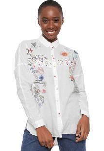Camisa Desigual Marta Off-White