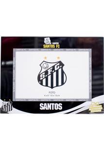 Porta Retrato Minas De Presentes 1 Foto 10X15Cm Metal - Santos Preto