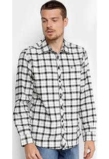 Camisa Forum Xadrez Smooh Masculina - Masculino