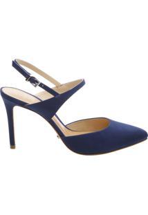 Scarpin Slingback Dress Blue | Schutz